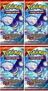 4 (Four) Packs - Pokemon - XY Primal Clash Booster Packs