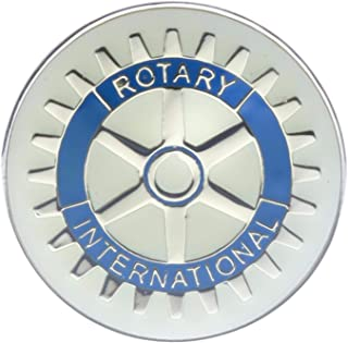 Sujak Military Items Rotary Club Rotarian Business (Silver Tone) Hat or Lapel Pin