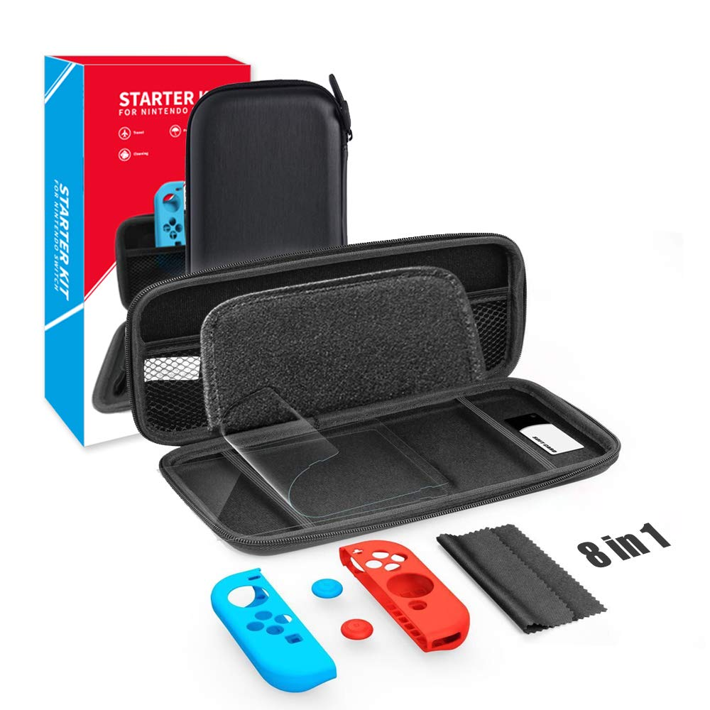 Nintendo Switch trend rank Carrying Seasonal Wrap Introduction Case Deluxe Shell Hard