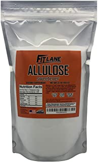 Allulose Sweetener, 100% Pure Non GMO Zero Net Carb Natural Keto Sweetner Sugar Substitute by Fit Lane Nutrition Value Size 2 lb (32 oz)