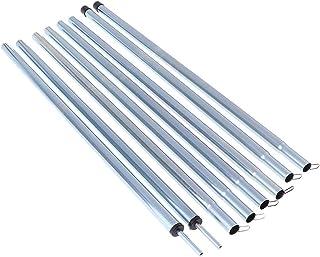 Attelage De Remplacement en Alliage pour Tente De Camping Hihey 4pcs Alliage daluminium Tente Pole Tube de R/éparation Tige Simple Rod Diam/ètre De Tuyau De R/éparation 7.9-8.5mm