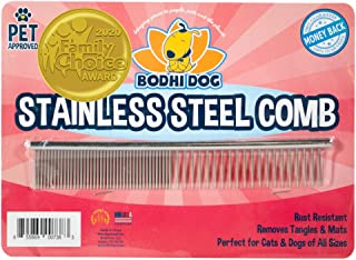Bodhi Dog New Natural Tear Eye Stain Remover or Set of 2 Combs  Remove Stains and Clean Residue for Dogs and Cats   Safe G...