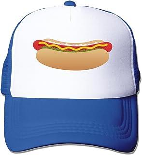 Unisex Hot Dog Sausage Design Hip Hop Mesh Hat Trucker Baseball Cap