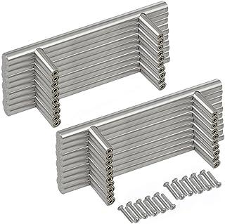 Margueras - 20 tiradores de barra para puertas de armario de