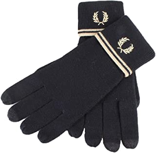 Fred Perry Twin Tipped Mens Gloves Black