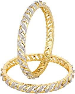 Best one gram gold plated bangles Reviews