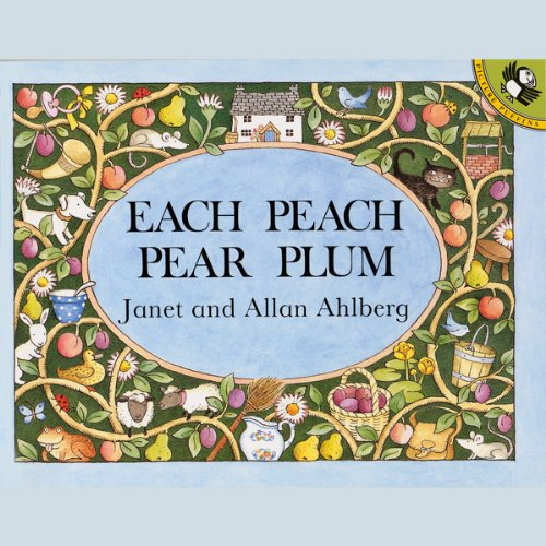 Each Peach Pear Plum audiobook cover art
