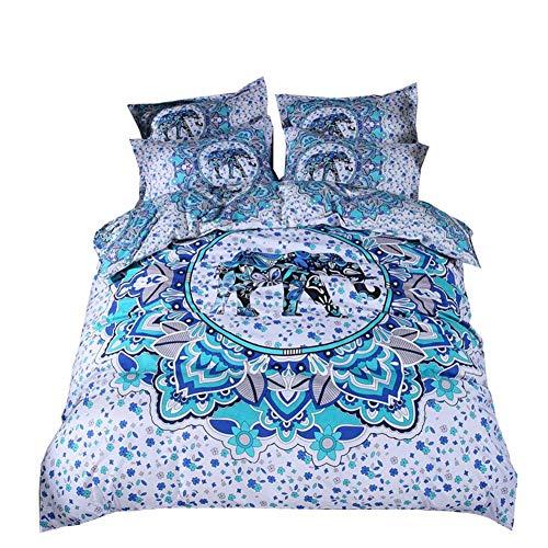 colcha azules cama 105 fabricante yunyu