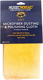 MusicNomad MN230 Microfiber Dusting and Polishing Cloth for