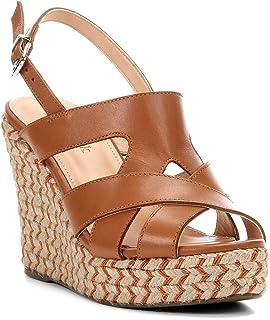 ef154ea26 Sandália Plataforma Couro Shoestock Tranças Étnicas Feminina