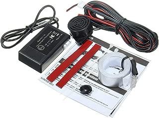 LED DC12V Reverse Backup Parking Sensor Radar System,Buzzer Beeps, Electromagnetic Auto Car Parking Reversing Reverse Backup Sensor,