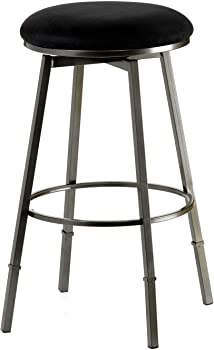 Hillsdale Furniture 4150-831 Sanders Adjustable Pewter Bar Stool
