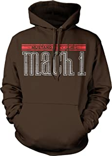 Ford Mustang Mach 1 Fifty Years V8 5.0 Hotrod Muscle Car Hoodie Sweatshirt Pullover
