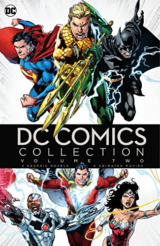 DC Graphic Novel and DCU MFV Uber Collection: Volume 2 (BD) [Blu-ray]