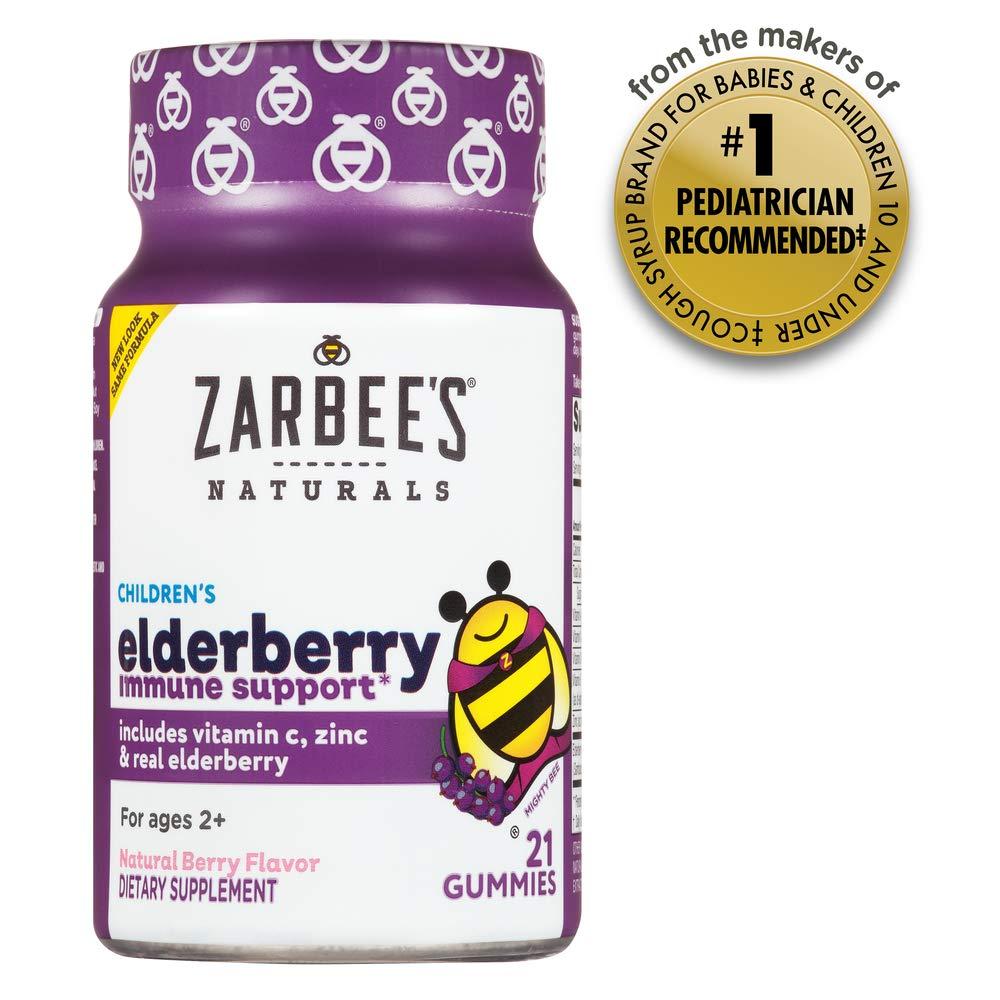 Zarbees Naturals Childrens Elderberry Support