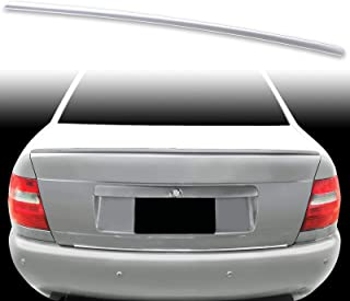 FYRALIP Painted Factory Print Code Trunk Lip Wing Spoiler For 1996-2001 Audi A4 S4 B5 Sedan Fast Delivery Easy Installation Perfect Fit - LY7W Light Silver Metallic