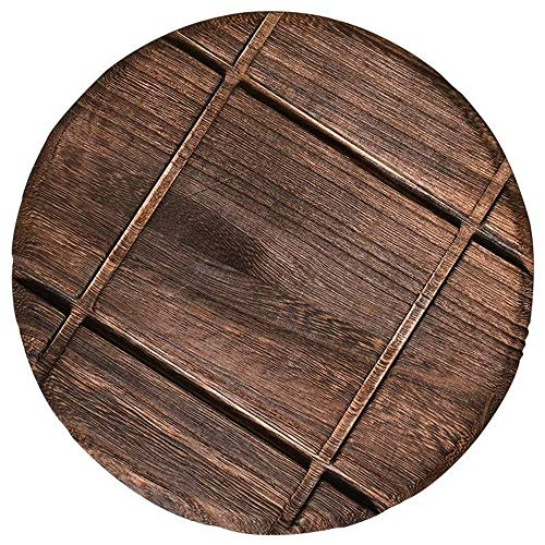 3 Pack 11 Inch Large Wood Trivet for Hot Dishes Pots Vintage Kitchen Trivet Decorative Countertops Stove Trivets