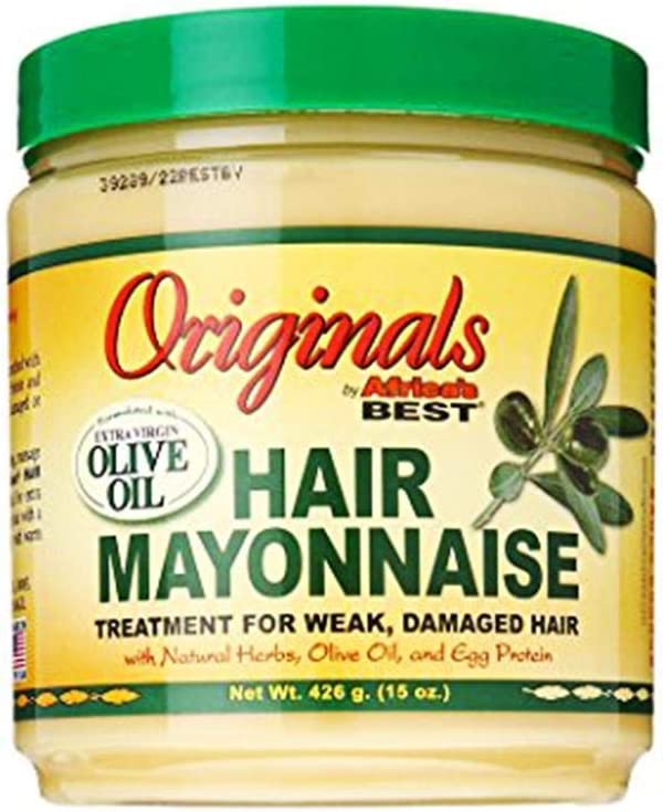 Hair Mayonnaise With Olive Oil