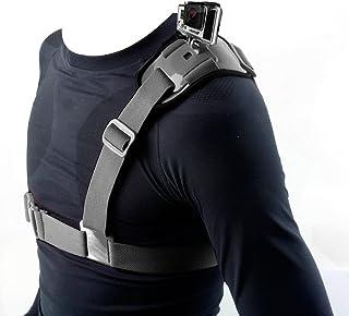 Hapurs Shoulder Strap Mount Harness Single Shoulder Video Camera Shoulder Chest Strap Supports Belt for GoPro Hero 2 3 GoP...