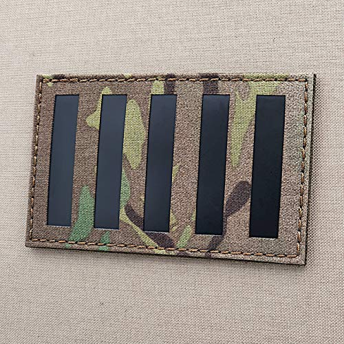 Stamp Act Flag Big 3x5 Multicam Black IR Sons of Liberty Rebelious Stripes Morale Patch