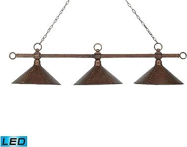 Elk Lighting 182-AC-M2-LED Island Light, Antique Copper