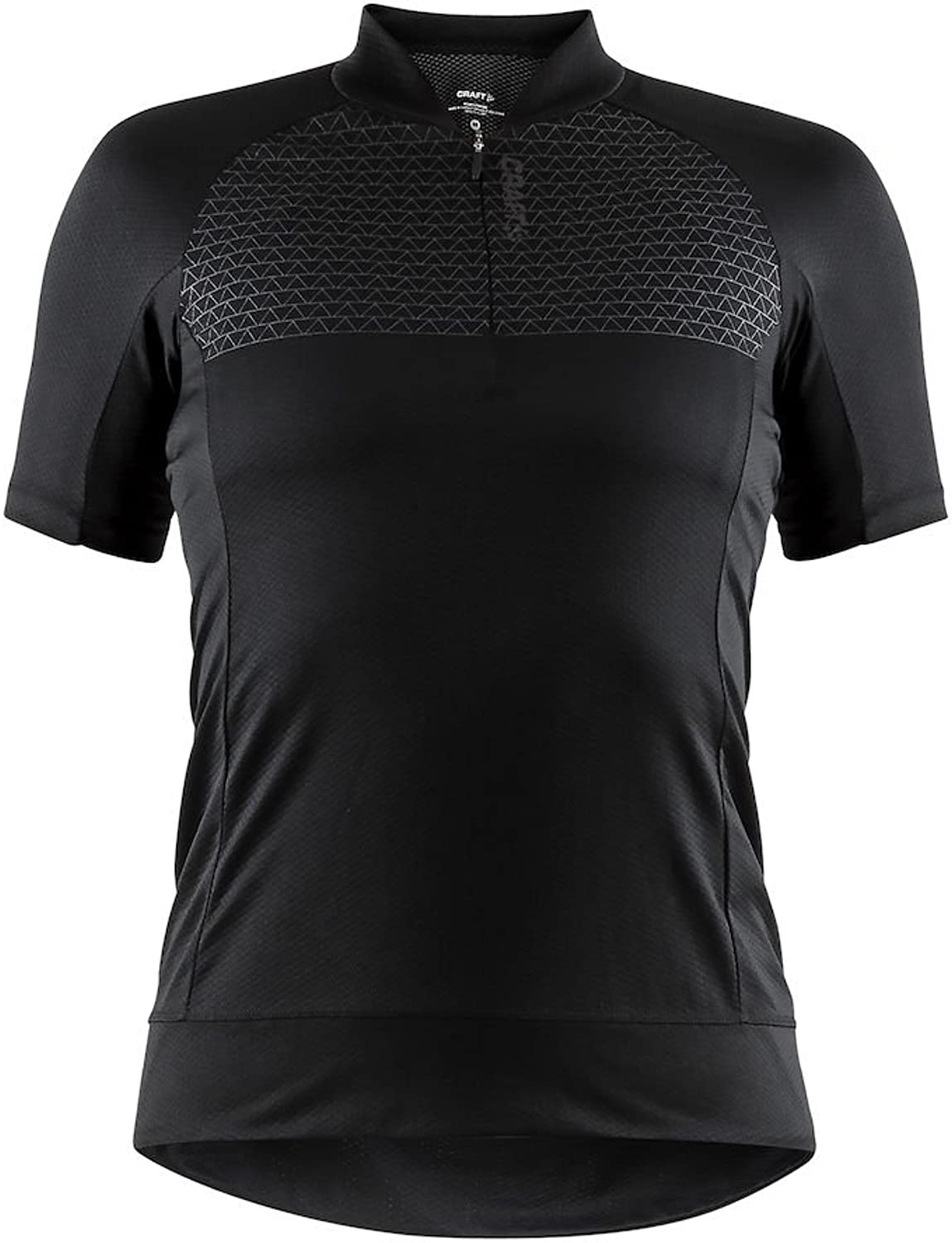 Craft Sportswear Women's Rise Bike and Cycling Training 1 4 Zip Short Sleeve Jersey  Predective Riding Compression Cooling