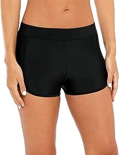 BeautyIn Women's Active Swim Shorts Sporty Boyshort Swim Bottom Board Short