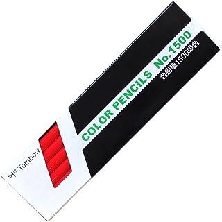 プロランキングトンボ鉛筆色鉛筆1500単色赤1ダース1500-25購入