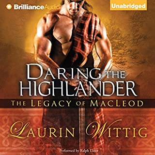 Daring the Highlander audiobook cover art