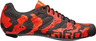 Giro Empire SLX Reflective Road Bike Shoes Orange Lava Lamp