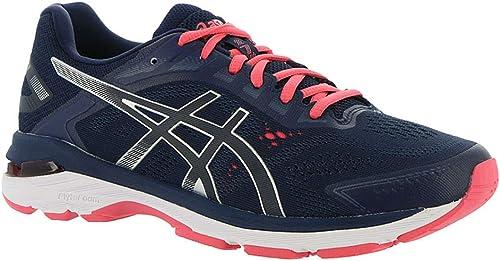 ASICS - Chaussures Gt-2000 7 (D) pour Femmes, 43.5 C D EU, Peacoat argent
