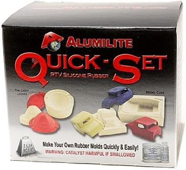 Alumilite Quick Set Mold Max 73% OFF Rubber Kit 1 lb. Silicone shop Base Pa Tin