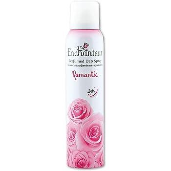 Enchanteur Romantic Perfumed Deo Spray for Women, 150ml