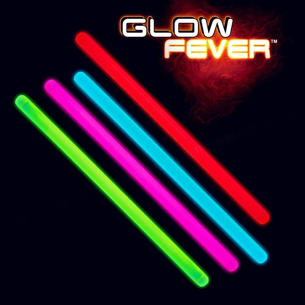 Glow Popularity Fever Bulk in The Denver Mall Dark Sticks 10'' Jumbo f 100ct