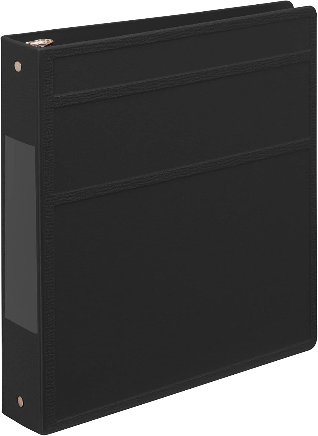 Carstens 1.5- Inch Heavy Free shipping Duty 3-Ring Side Opening Japan Maker New - Blac Binder