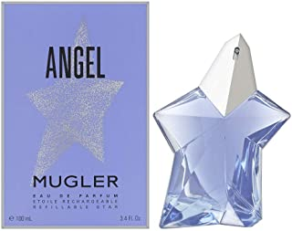 Angel by Thierry Mugler Standing Star for Women - Eau De Parfum Spray Refillable, 100ml