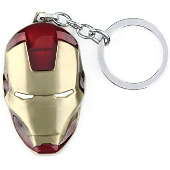 Avengers Iron Man 3 Pewter Porte-Clés Key Chain Brand New 67971