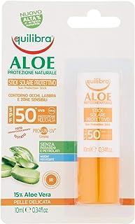 Equilibra Aloe Stick Solare Protettivo Spf 50+, 10 ml