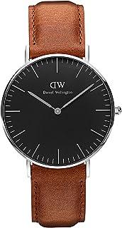 Daniel Wellington Men Classic Black Durham, Silver 40 mm - DW00100132