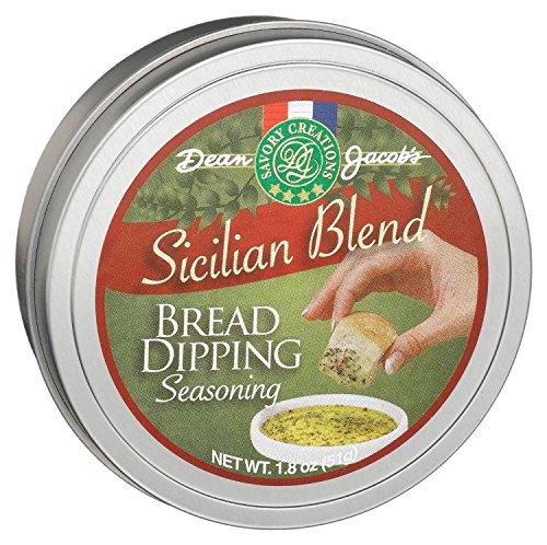 Dean Jacob's Sicilian Bread Dipping Seasoning Tin