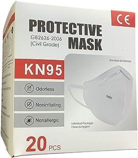 Dima Cubrebocas Mascarillas con Certificación KN95 contra Partículas (20 Piezas)