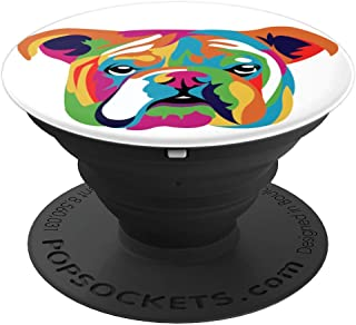Bulldog Mama Papa Keeper gift I perfect for Dog friends PopSockets Grip and Stand for Phones and Tablets