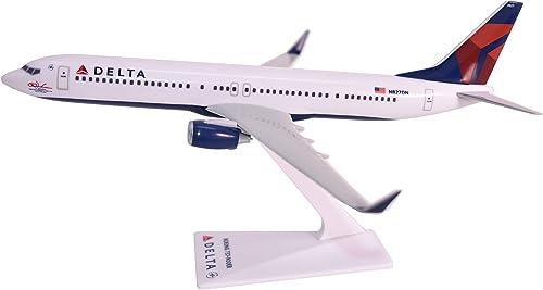 Delta (07-Cur) 737-900ER Airplane Miniature Model Plastic Snap Fit 1 200 Part  ABO-73790H-007