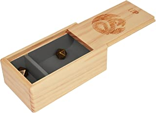 Ultra Pro The Ark Dice Tray - Premium Wooden Tray for Gaming Dice & Accessories