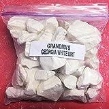 Grandma's White Dirt of Georgia Kaolin Clay Chunks