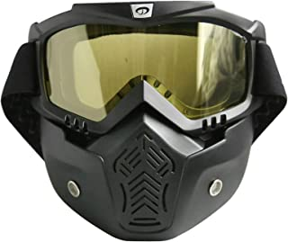 Aooaz Motorcycle Helmet Off Road Outdoor Goggles Mask Retro Mask Goggles
