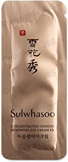 Sulwhasoo NEW Concentrated Ginseng Renewing Eye Cream EX 1ml x 30PCS