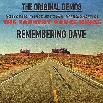 Remembering Dave: The Original Demos