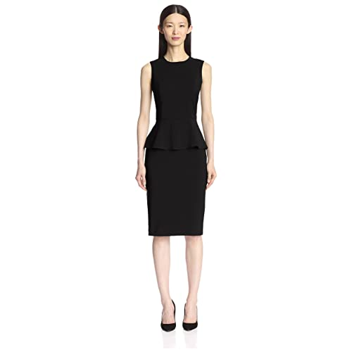 0d1f97ba59c9a6 Amazon.com  SOCIETY NEW YORK Women s Sleeveless Peplum Dress  Clothing