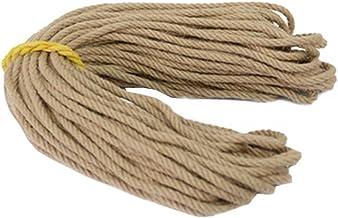 100% Natural Hemp Rope (8mm),50 Meters(164 ft) for Arts Crafts DIY Decoration
